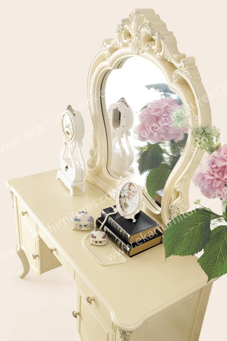 도매 새로운 디자인 프랑스어 스타일의 어린이 드레싱 테이블 ...