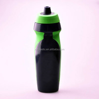 High quality bpa free squeeze water bottle with rubber grip