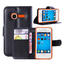 Wholesale Leather Phone Case For Alcatel One Touch T Pop