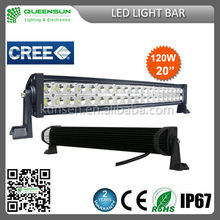 Wholesale price!120w led light bar 20 inch high intensity IP 68 china manufacturer