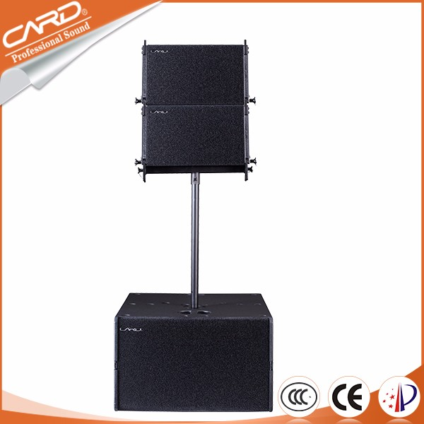 Wholesales creative empty line array cabinet box