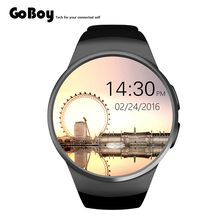 New products Round Screen MTK2502C Smartwatch Luxry KW18 Smart Watch Android Mobile Phone Smart Watch
