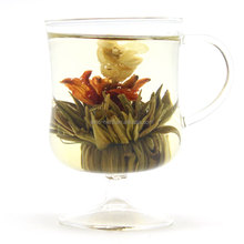 Artistic Flower Blooming Tea Balls Flowering Tea Blossoms White tea with flowers