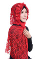 New design lace flower hijab scarf fashion design women muslim hijab scarves GL601