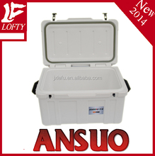 75L high quality PU insulation cooler box with handle