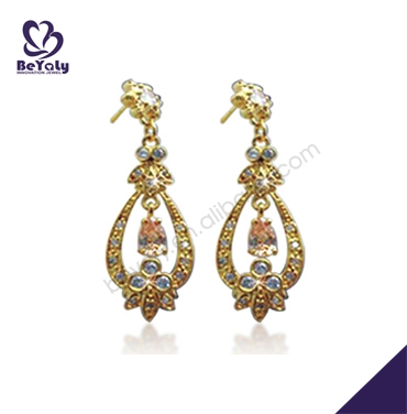 made in china wholesale alibaba costume jewelry 22 carat gold earrings