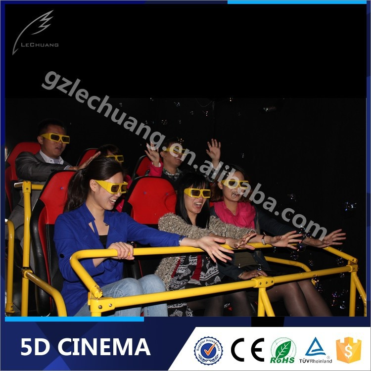 Lechuang Hydraulic/Electric 3D Glasses Mini Hot Sale 5D Cinema 5D Theater