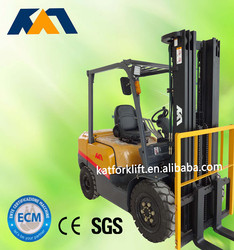 Promotional price 3ton LPG Nissan K25 forklift truck for sale
