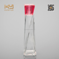 body shaped unique design perfume glass bottle
