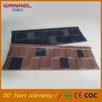 Warehouse building material chinese style coated roofing tiles, fireproof roof tile sand coated roofing tiles