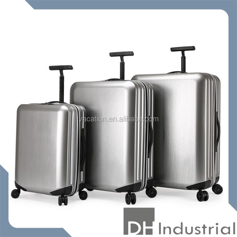 3 Pcs Luggage Travel Set Bag ABS+PC Trolley Carry On Suitcase