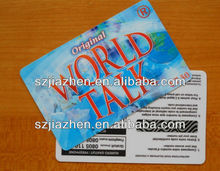 full color Customized warranty card format