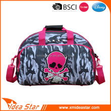 Manufacture camouflage skull pattern portable latest fashion school bag