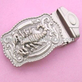 40MM Size R-0434-143 belt buckle ( fashion belt buckle , scorpion belt buckles)