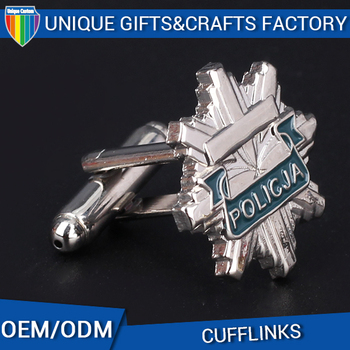 China supplier OEM custom stainless steel cufflinks