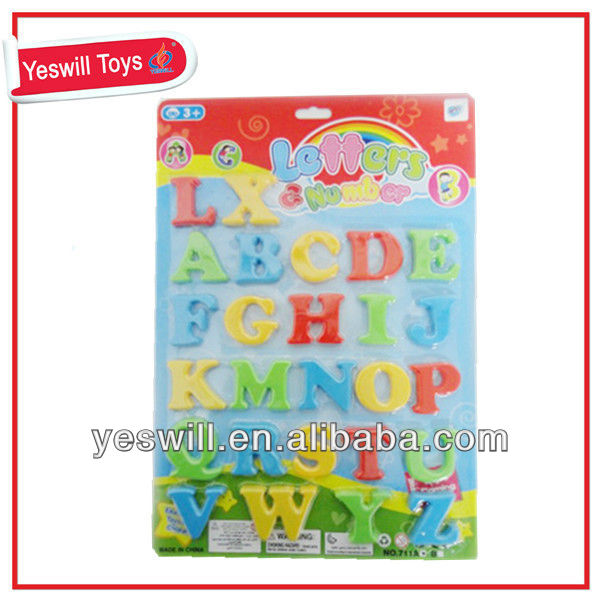 cheap plastic alphabet letters for children