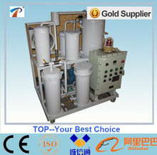 Cost-effective hydraulic vacuum oil purifier/lubricants filter cleaning machine
