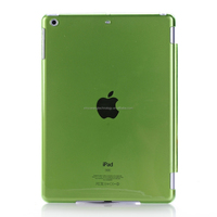 High quality transparent crystal clear ultra thin PC back case for Ipad Air 2