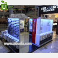 2017 Top end sunglass display stand with optical display kiosk for glasses store