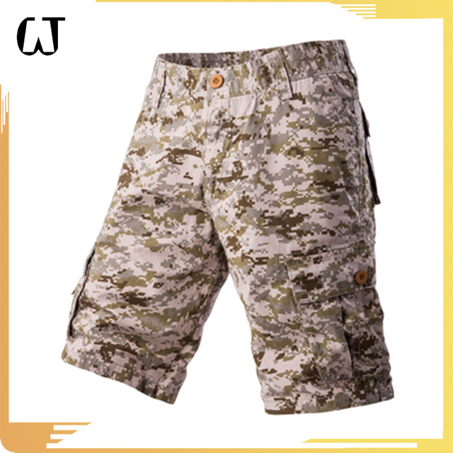 F1405#2017 High Quality Latest Fashion Top Design Army Men Half Shorts Military Patches For Men