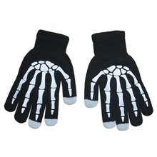 Halloween Party Favor Glow Magic Skeleton Gloves For Crazy Halloween Party