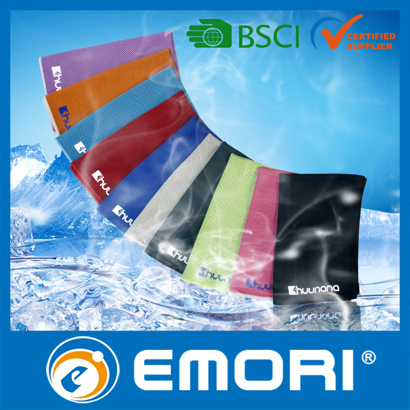 Wholesale Summer towel get cold wet Cooling towel