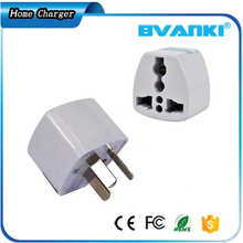 Universal Travel Charger Mini AC Power Socket Travel Adapter With USB Charger Outlet Converter
