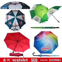 different kinds of promotional umbrella
