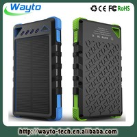 Fast Charge 2A Solar 8000mah Dual