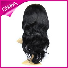 Natural Looking Body Wave Brazilian Human Virgin Hair Full Lace Wig With Baby Hair