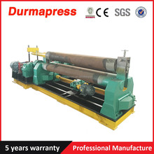 W11-6x3200 three roller coiling bending machine/metal plate rolling machine tool