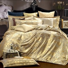 china suppliers silk fabric comforter sets/bedding sets/bed linen used hotel bed sheets