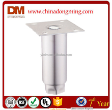 DM A93111 Stainless Steel Adjustable Table Legs with mounting plate
