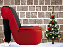 hign heel shoe christmas design for party club living room chairs modern leisure chair used hotel waiting room chair K125A