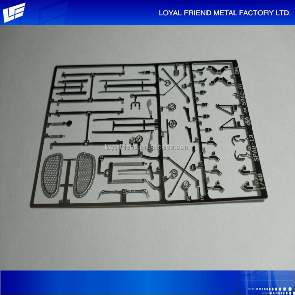 Hot Selling Classical Metal Etched Train Auto Part Model