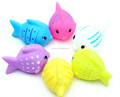 plastic fish bath toys,mini pvc animal bath toys,oem pvc material vinyl bath toy