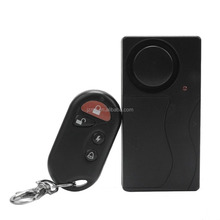 Anti Theft Burglary Security Wireless Vibration Sensor Detector Alarm for Window Door Car Motorcycle Bicycle