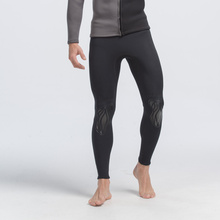 sbart wholesales 3mm high end elastic neoprene pants long sleeve mens diving pants thermal wetsuit bottoms