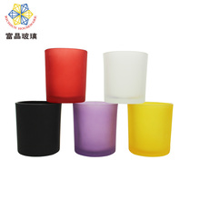 Wholesales Home Decoration Color Glass Votive Candle Holder RSZ011P