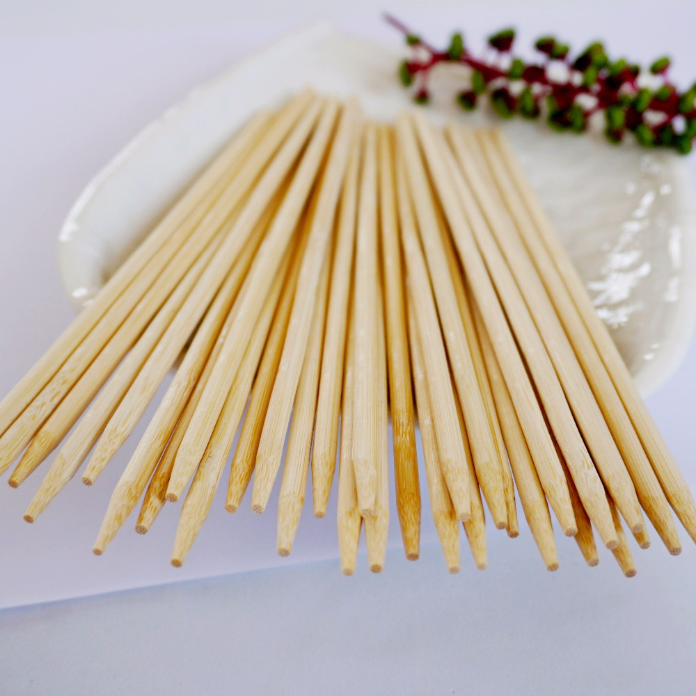 Round bamboo barbecue skewerturkish kebab skewers