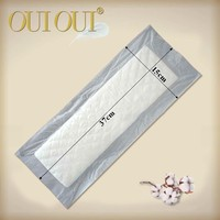 New brand OUIOUI disposable belted ladies maternity sanitary pad