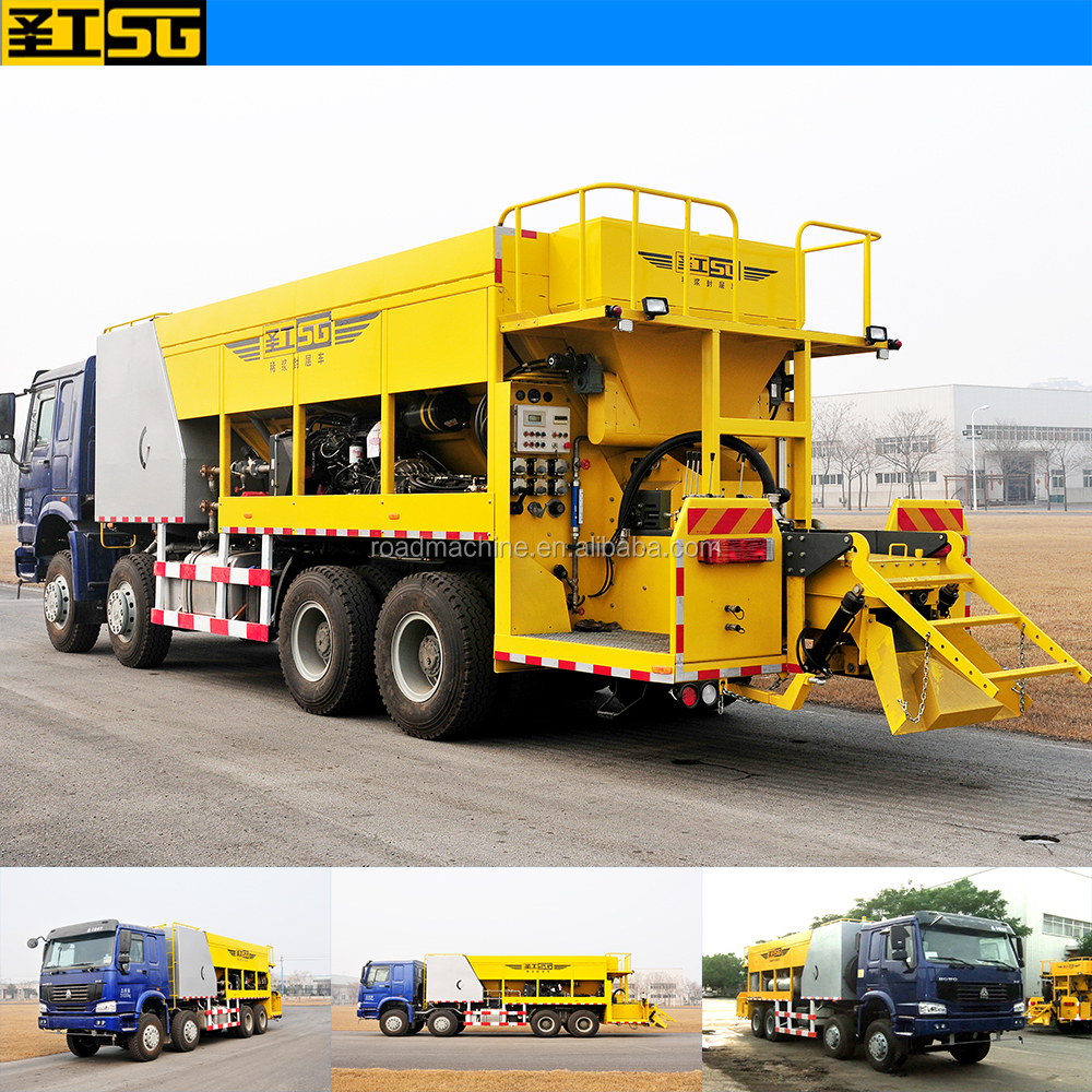 HGY5251TFC Micro Surfacing Asphalt Slurry Sealer hot sale in Mexico