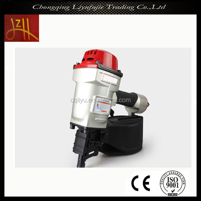 OEM Quality Pneumatic Tools CN70 Pallet Coil Nail Gun Supplier