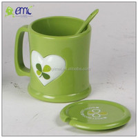 PP material plastic cup with lid