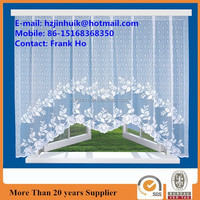 lace window curtain with flower design M-style