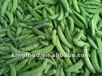 Supply frozen sugar snap peas
