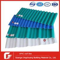 unique roofing materials building roofs tiles wavy corrugated 1mm soft plastic pvc sheet