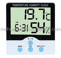 2016 new Digital LCD Indoor Temperature Humidity Thermometer Hygrometer Meter]