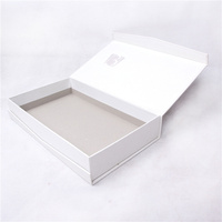 different design black paper perfume packaging box