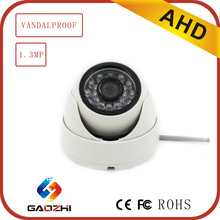 Low Illumination 960P COMS IP66 Dome Indoor Analog CCTV Camera